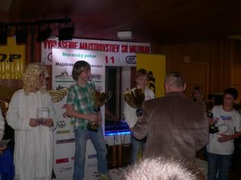 Vyhlášení výsledků Moravského poháru 2011 14